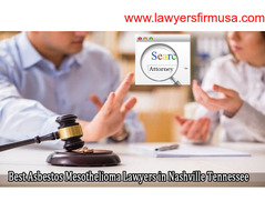 Best Asbestos Mesothelioma Lawyers in Nashville Tennessee