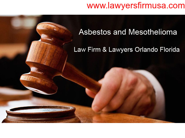 Best Asbestos Law Firm for Mesothelioma Affected People in Orlando Florida