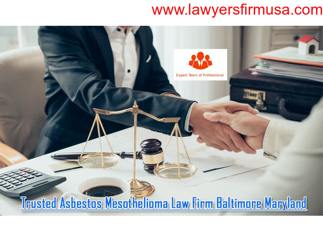 Trusted Asbestos Mesothelioma Law Firm Baltimore Maryland