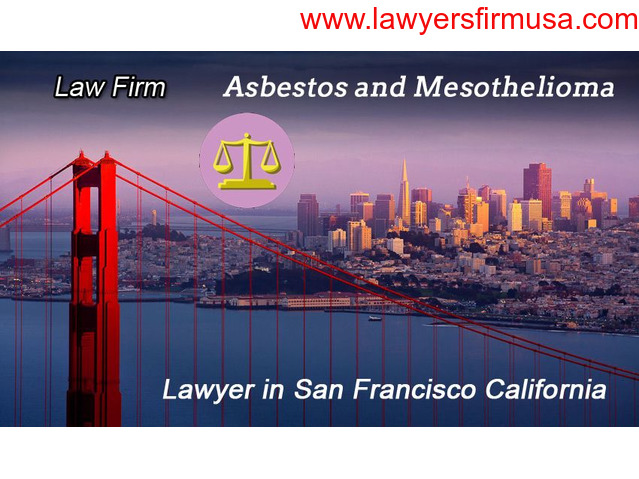 Reputed Asbestos Mesothelioma Law Firm in San Francisco California